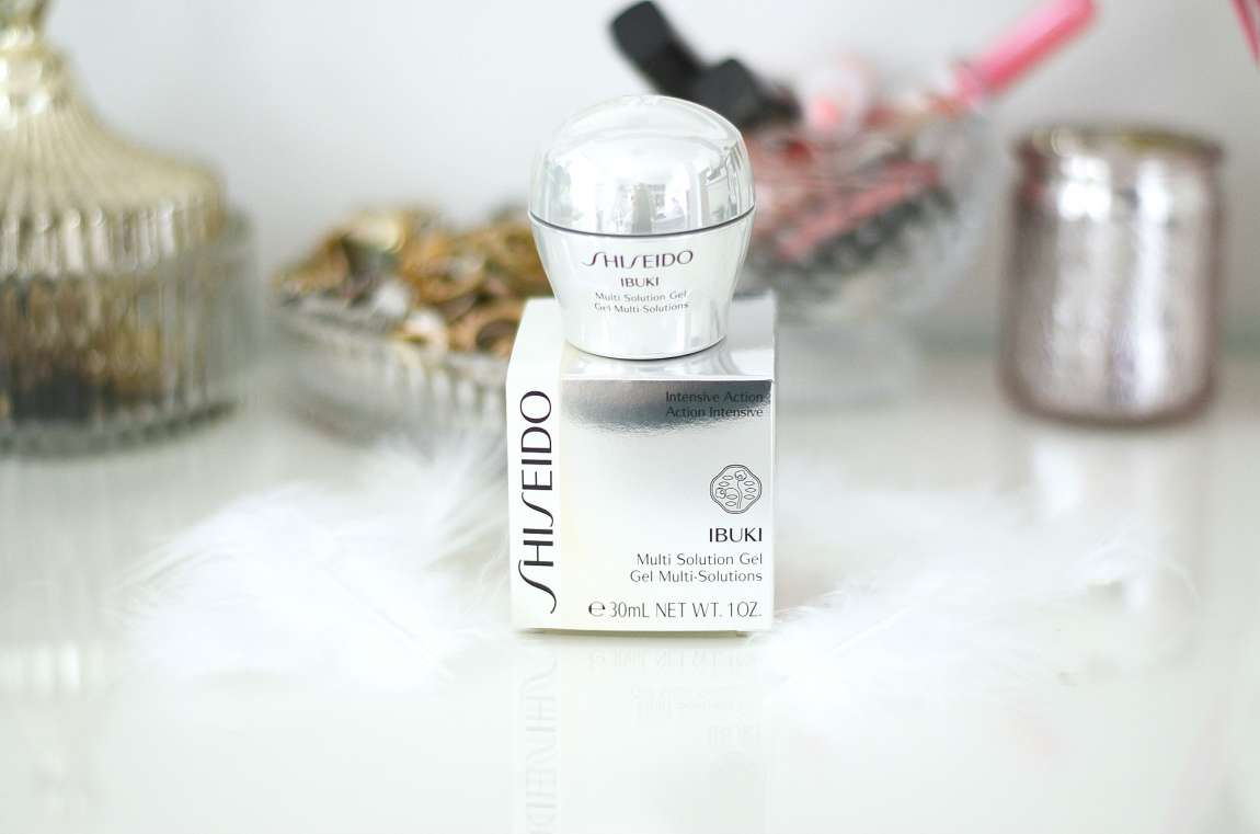 REVIEW: SHISEIDO IBUKI MULTI SOLUTION GEL beuty-review
