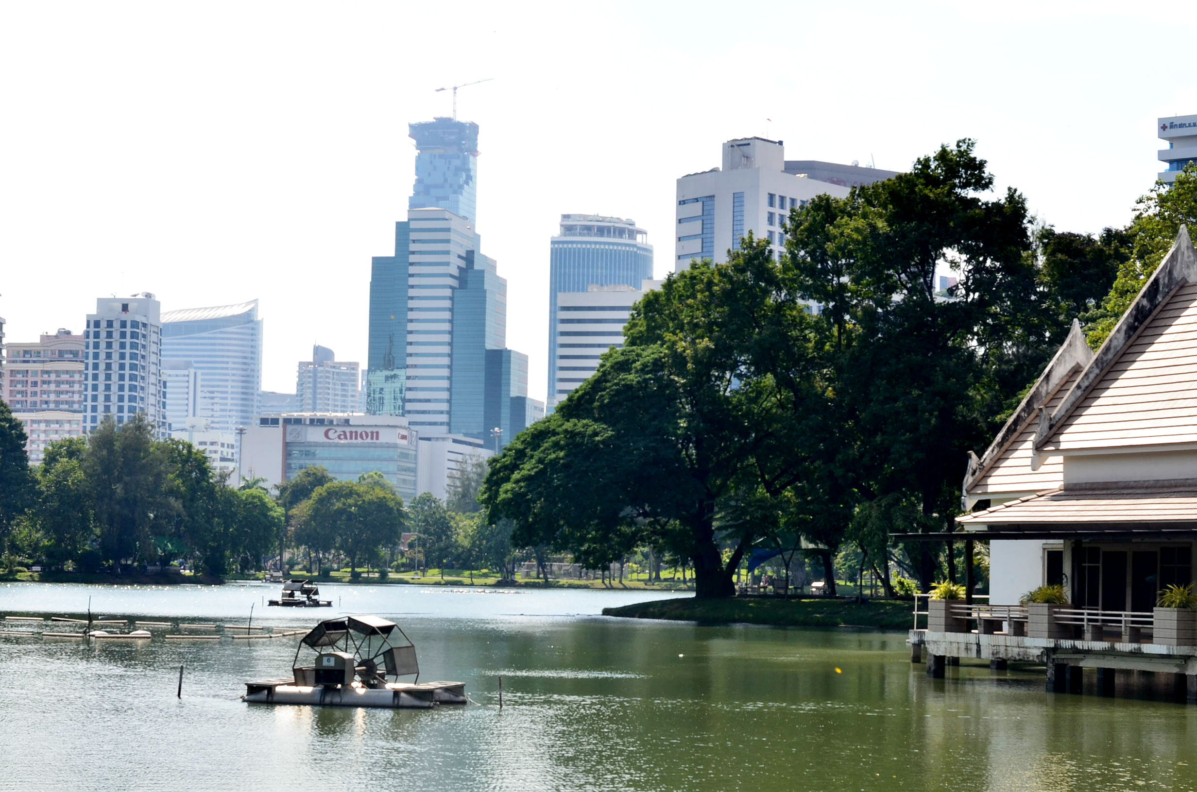 Thailand: 11. Gründe, warum ich dieses Land so liebe Lumphini-Park-Bangkok-Thailand-Fashionzauber