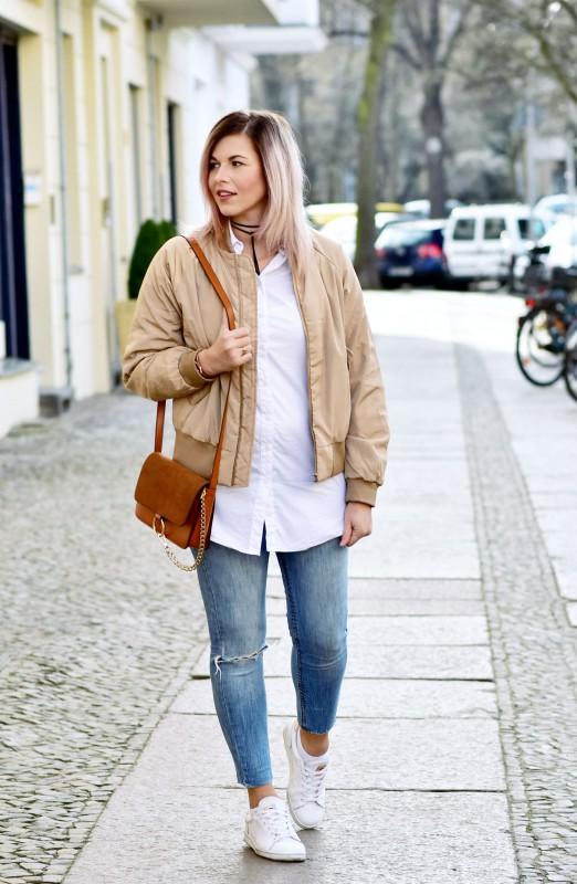Fashionzauber-Bomberjacke-Sneaker-ripped-Jeans