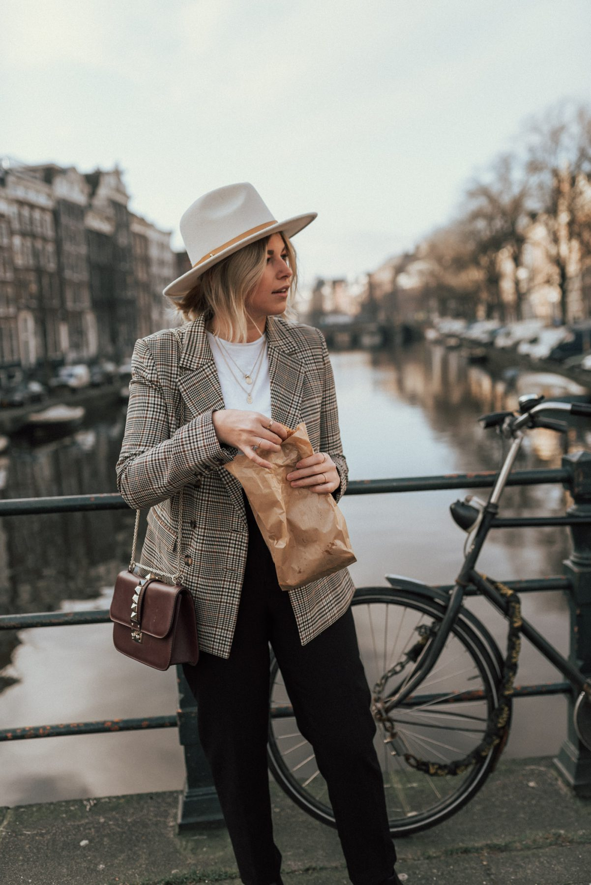 blazer-checked-and-other-stories-fedora-hat-lack-of-colors-fashionblog-fashionzauber