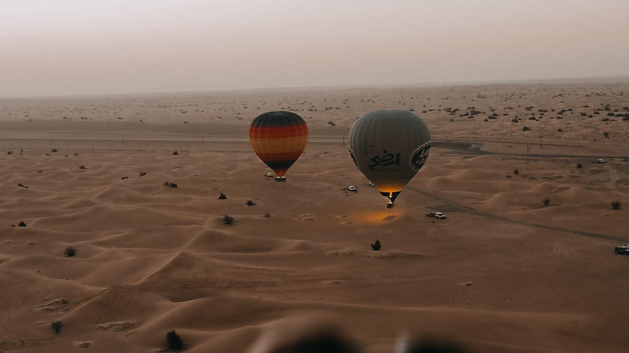 Image for Dubai Travel Diary || Overnight Desert Safari & Hot Air Balloon Flight [Part 1]