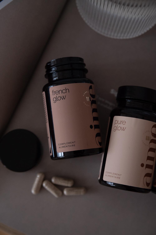 meine-nahrungsergänzungsmittel-supplements-pure-glow-aime-vegan-natürlich-beautyblog-aline-kaplan
